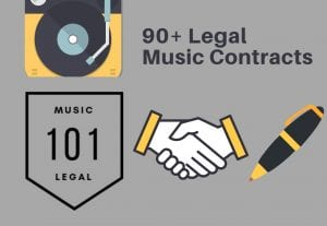 Provide you with over 90 music contracts