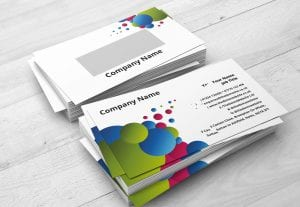 323Print 500 400gsm unlaminated business cards