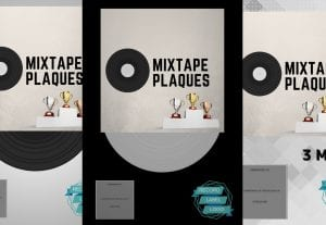 Make a digital album ep or mixtape plaque