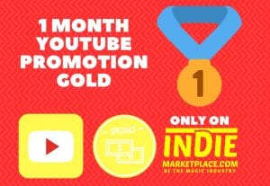 Gold YouTube promotion