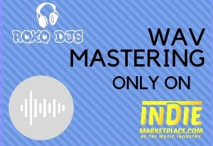 Master your track to wav