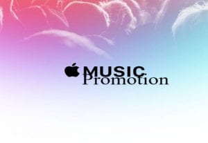 I will add your music to our apple music playlist for 1 month