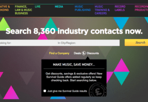 We Will Give You The Best Music Industry Contacts