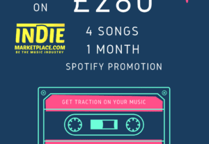 30121 Month Spotify Promotion 4 Tracks