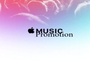I will add your music to our apple music playlist for 3 months