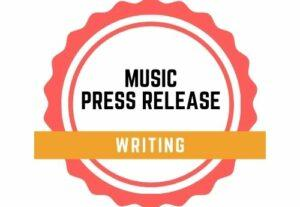 67289Music press release writing service