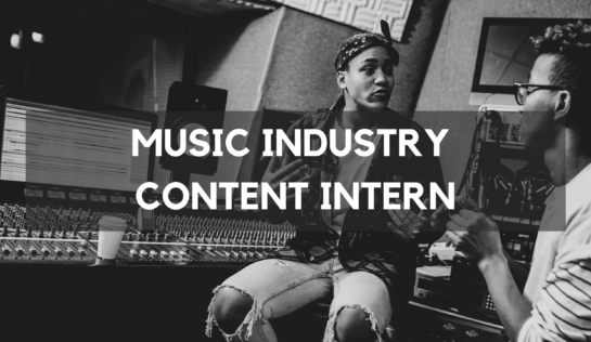 Music industry careers